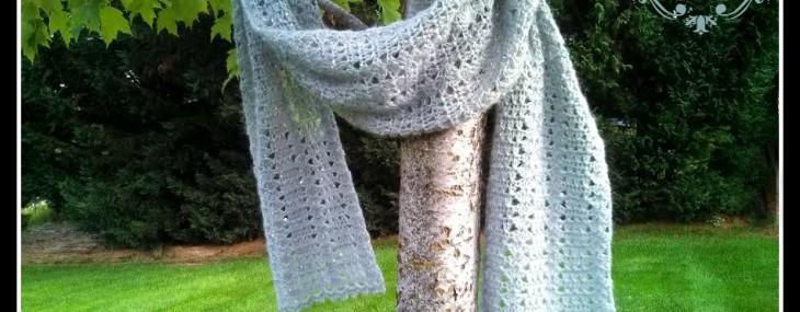 Winter's Edge Scarf… Free Crochet Pattern!!