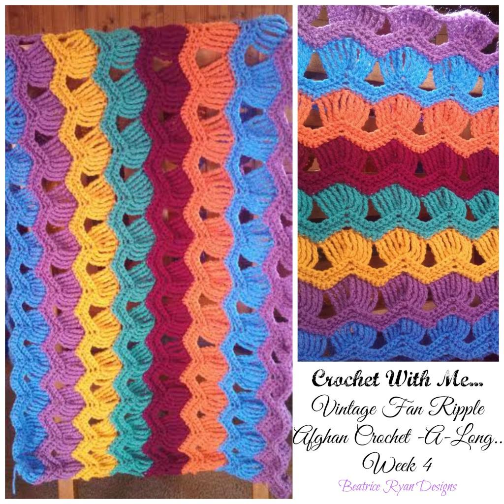 Crochet With Me… Weekly Crochet~A~Long.. Week 4